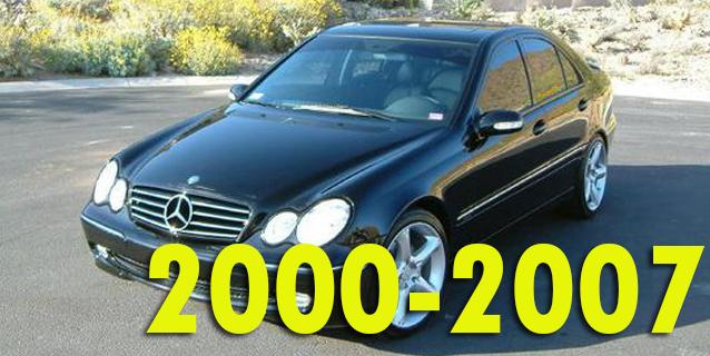 Фаркопы для Mercedes-Benz C-Class 2000-2007