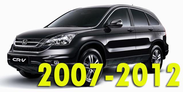 Защита картера двигателя для Honda CR-V 2007-2012