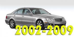 Защита картера двигателя для Mercedes-Benz E-Class 2002-2009