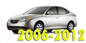 Защита картера двигателя для Hyundai Elantra 2006-2012