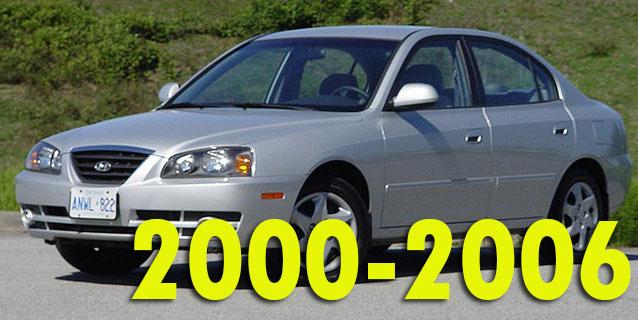 Защита картера двигателя для Hyundai Elantra 2000-2006