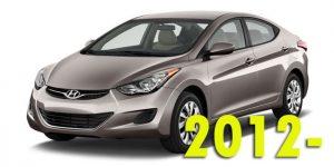Защита картера двигателя для Hyundai Elantra 2012-