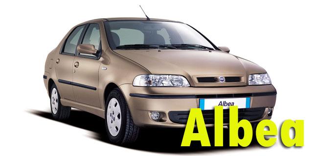 Фаркопы для Fiat Albea