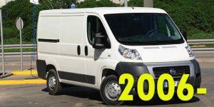 Защита картера двигателя для Fiat Ducato 2006-