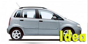 Фаркопы для Fiat Idea