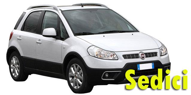 Защита картера двигателя для Fiat Sedici