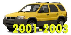 Защита картера двигателя для Ford Escape 2001-2003