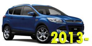Защита картера двигателя для Ford Kuga 2013-