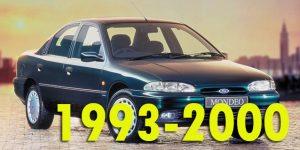 Защита картера двигателя для Ford Mondeo I 1993-2000