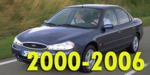 Защита картера двигателя для Ford Mondeo II 2000-2006