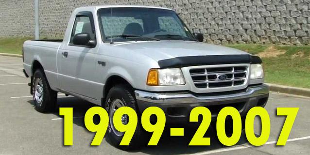 Защита картера двигателя для Ford Ranger 1999-2007