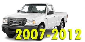 Кунги для Ford Ranger 2007-2012