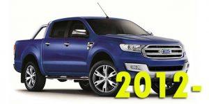 Кунги для Ford Ranger 2012-