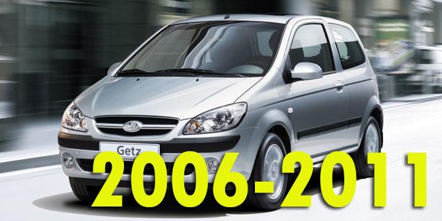 Защита картера двигателя для Hyundai Getz 2006-2011