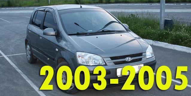 Защита картера двигателя для Hyundai Getz 2003-2005