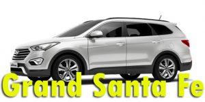 Защита картера двигателя для Hyundai Grand Santa Fe 2014-