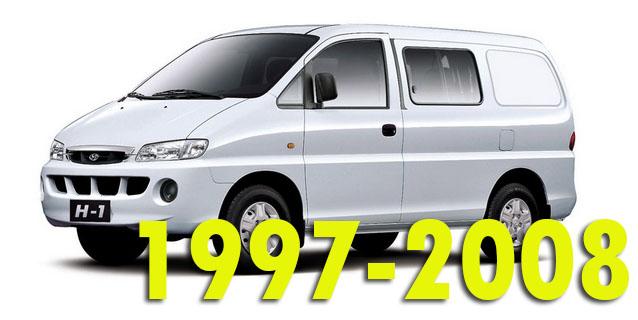Защита картера двигателя для Hyundai H1 1997-2008