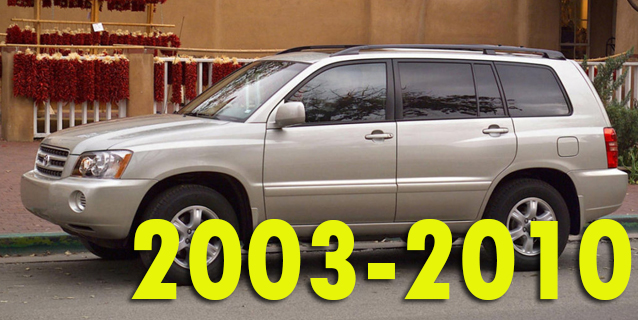Фаркопы для Toyota Highlander 2003-2010