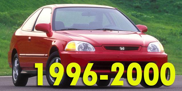 Защита картера двигателя для Honda Civic 1996-2000