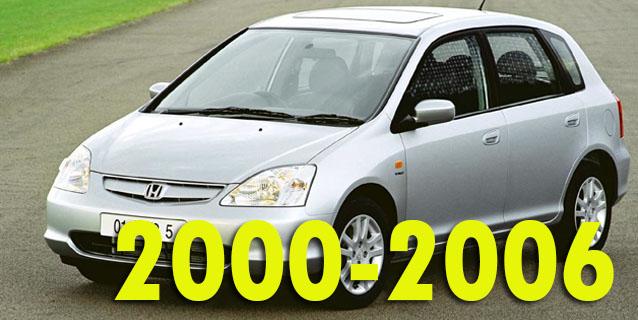 Защита картера двигателя для Honda Civic 2000-2006