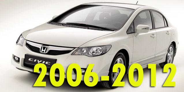 Защита картера двигателя для Honda Civic 2006-2012