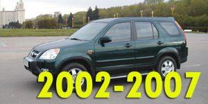 Защита картера двигателя для Honda CR-V 2002-2007