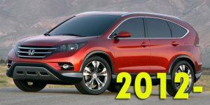 Защита картера двигателя для Honda CR-V 2012-