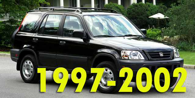 Защита картера двигателя для Honda CR-V 1997-2002