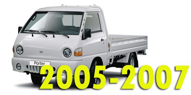 Защита картера двигателя для Hyundai Porter 2 2005-2007