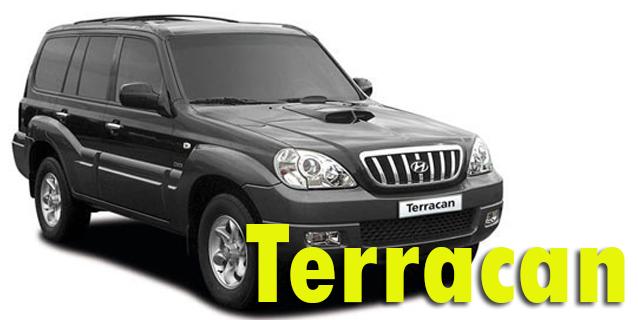 Фаркопы для Hyundai Terracan