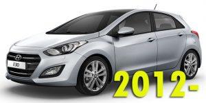 Защита картера двигателя для Hyundai i30 2012-