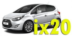 Фаркопы для Hyundai ix20
