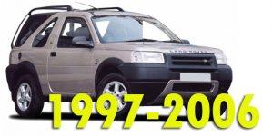 Защита картера двигателя для Land Rover Freelander 1997-2006