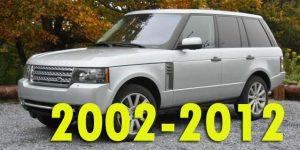 Защита картера двигателя для Range Rover 2002-2012