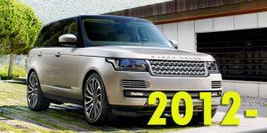 Защита картера двигателя для Range Rover 2012-