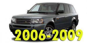 Защита картера двигателя для Range Rover Sport 2006-2009