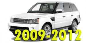 Защита картера двигателя для Range Rover Sport 2009-2012