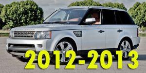 Защита картера двигателя для Range Rover Sport 2012-2013