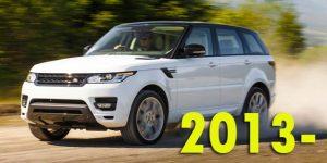 Защита картера двигателя для Range Rover Sport 2013-