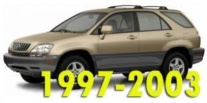 Защита картера двигателя для Lexus RX 1 поколение 1997-2003