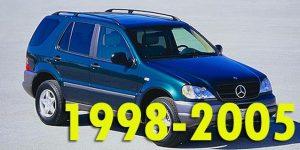Защита картера двигателя для Mercedes-Benz M-Class 1998-2005