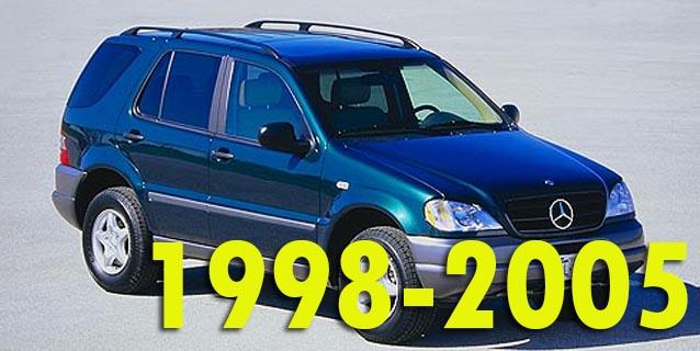 Фаркопы для Mercedes-Benz M-Class 1998-2005