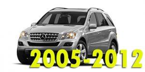 Защита картера двигателя для Mercedes-Benz M-Class 2005-2012