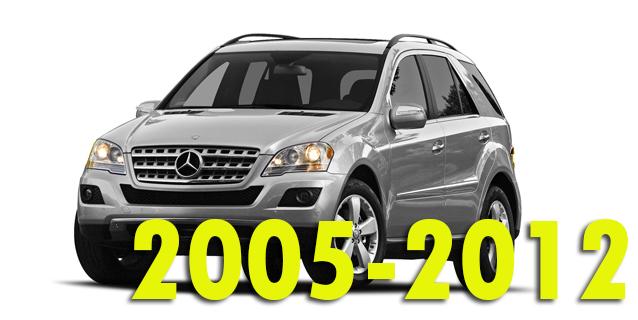 Фаркопы для Mercedes-Benz M-Class 2005-2012