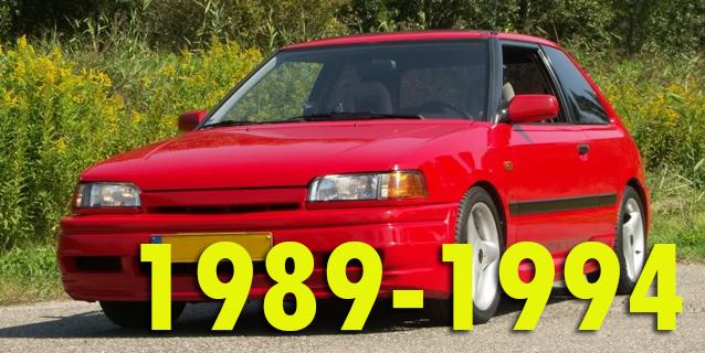 Защита картера двигателя для Mazda 323 1989-1994