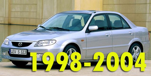 Защита картера двигателя для Mazda 323 1998-2004