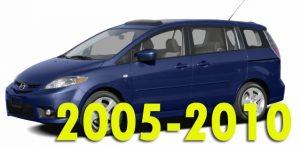 Защита картера двигателя для Mazda 5 2005-2010