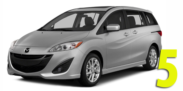 Фаркопы для Mazda 5