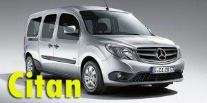 Фаркопы для Mercedes-Benz Citan