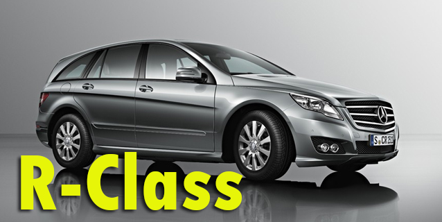 Фаркопы для Mercedes-Benz R-Class